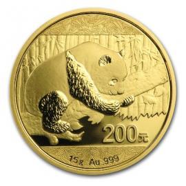 """15 гр. Златна монета """"Китайска панда""""   ff7b2fc162d81f512bfc4c36bf66c25dfc1a05e7dad2cd14a3daef838e10b035"""