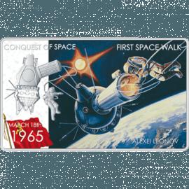 "Silver coin ""First space walk- Alexsey Leonov""  b07a6081ea8d9ee4c82d11d71fa2a50c4d051f046e2c2482e6b8a8498043aff1"