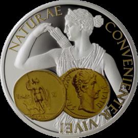 """Сребърна монета """"Диана, Богинята на лова"""", лице"""