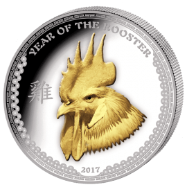 "Silver coin ""Year of the Rooster 2017"" - 1 oz  4f8b8c7968a5d400bd20ac0aeceffda63586ab5c704694ac8acae9a4d87368a9"