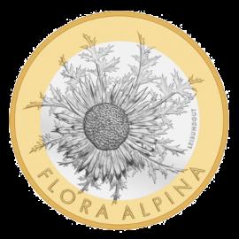 """Монета """"Флора Алпина"""", лице"""