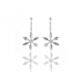 "Earings ""Snow Feather"""