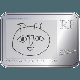 """Silver coin """"Pablo Picasso""""  eea99a410b29de5a5bf9ec906319cefeb580c9f8e25464731bea1b4aeb18e021"""