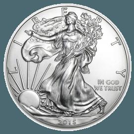 """Сребърна монета """"Американски орел"""" 1 унция  a61a6633e5037b443f1983a6510481c3418658b2094f757a6262cb07edc1d78f"""