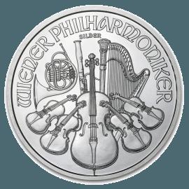 """Сребърна монета """"Виенска филхармония""""  62819a9f610259845244e43e06f98a0c02449ae8d1fe2a09324742d623a81c46"""