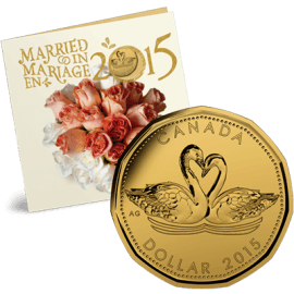 Wedding coin gift set 205