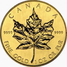 "Gold bullion coin ""Maple Leaf"" 1/10 oz  3fa9501fe920db8c20eb40016fe82a024acd8aea836d26b07c5473d4ec6a9f82"
