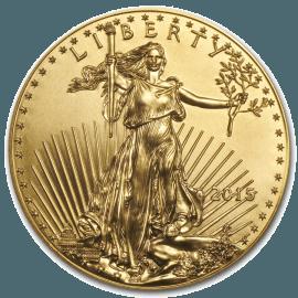 """Gold bullion coin """"American eagle"""" 1oz  5845e84234358d4ee0773535033c421962ab42fbed04779573d469f43d690460"""