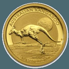 "Gold Bullion coin ""Australian Kangaroo"" 1/10 oz"