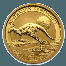 "Златна монета ""Австралийско кенгуру"" 1/20 унция"