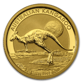 "Gold bullion coin ""Australian Kangaroo"" 1/4 oz  2afc4a7d758528727dba8a2cf70fa192a7a8f42867f4d11432b0cce3bd5e0b43"
