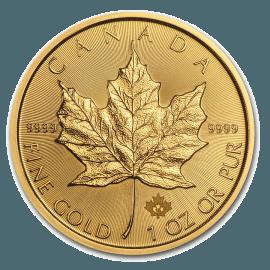 """Gold bullion coin """"Maple leaf"""" 1oz  8ba5c31a05555e6d1c1c9e1f67d4243aad1c2d82353b7376289a23bfbc5e9f24"""