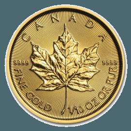 """Gold bullion coin """"Maple Leaf"""" 1/4 oz  574a6e27b8a4992363cc6bcfd12ea8dfb6aa8ccb4ba1b5da75526e13eb68d121"""