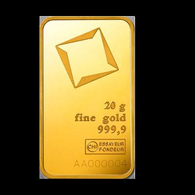 Златно инвестиционно кюлче 20 г  64e1c999a0f95197b4d58f8ef519979043e5e4354b9a4193bcd35e2cb19ec439