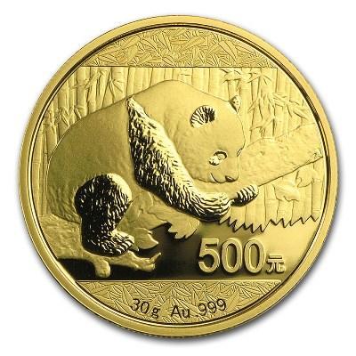"""30гр. Златна монета """"Китайска панда""""   c6babd2143c11682c347c4b226a5b265cd25918578554ce39ffd437be35b8cbd"""