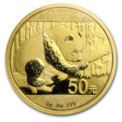 """3 гр. Златна монета """"Китайска панда""""   5ad7f7074cf0057f4b0a5b2443789ab10a5a38f4ef6f53e9a5a6a75afd97aeaf"""