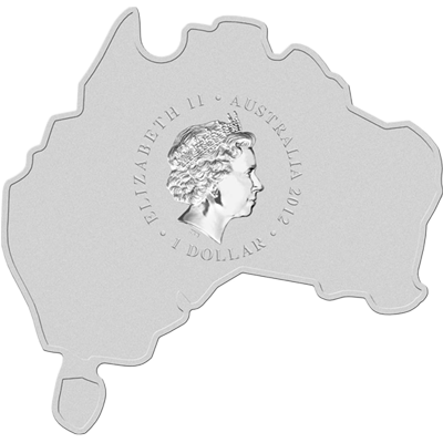 """Сребърна монета """"Австралийска карта - Ему""""  3b5a592fb5b35ffd553c2b8da29324d21eb5d94fdb9547533c616f84866e75cf"""