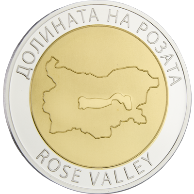 "Silver medal ""Bulgarian rose"", gold plated  57e2fe6b39a3d55d646399a0f4f9ff653bddd10977ab4e1ab06db49d2008d88b"