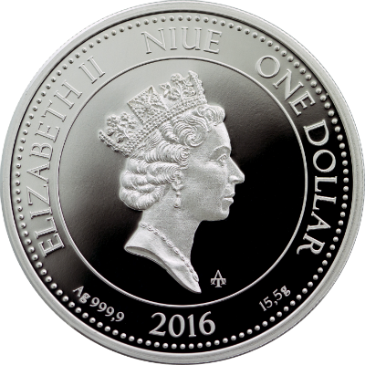 """Сребърна монета """"Монета, Богинята на парите и закрилата"""", гръб"""