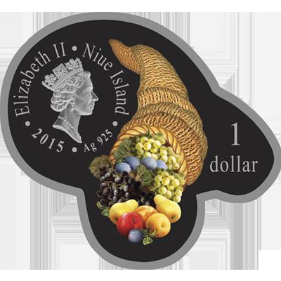 """Сребърна монета с частично позлатяване """"Изобилие и закрила,Годината на Козата"""" 2015  fa0db4d22d9618ecfeb30071567e30f132e9893d8ce15ab2c1403c7dd125aaf1"""