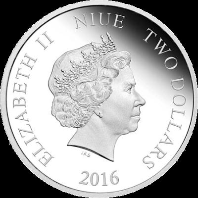 """Silver coin """"Star Wars - Captain Phasma""""  1b7f6cf814133393987e0038e6282a0b2ae36ecf4581846eb9d0869bb3c4145c"""