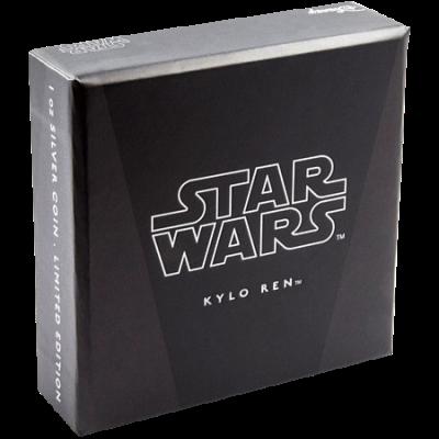 """Сребърна монета """"Star Wars- Кайло Рен""""  6f9ab1a2070d1c89fe433adca5b3b9cffadcae39bdd706ffbe0956cf569ddcaa"""