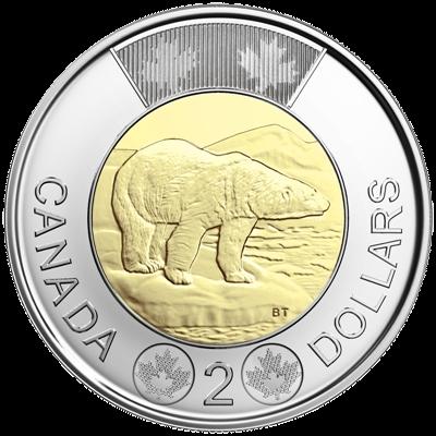 Подаръчен комплект за Сватба монета 2 долара
