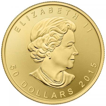 Златна монета кленов лист (Канада) - 1/10 унция  76289841d42d57fc6ec875ef2f404e66e53d459e4f22100c77bb7a875cab8ce4