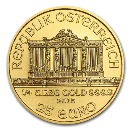 """Златна монета """"Виенска Филхармония"""" 1/4 унция  be798265dadf6a0acd9d20ea3e61f4ea832b3a0456c4c67deb909efa6391466b"""