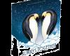 """Сребърна монета """"Винаги заедно, Пингвини"""", външна кутия"""