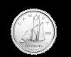 Mонета 10 цента, лице