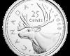 Mонета 25 цента, лице