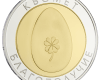 "Silver medal ""Health&Luck Egg"", gold plated  49f92803a1c0f12b1891ad49e31cdd0f3ee22f83a5e2aa347cb0d5a74efd28c1"