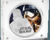 """Silver coin """"Star Wars - Captain Phasma""""  34364cb76b82b540c796ff30ae46bd92dddb02c918a3b5762782c39c26311e84"""