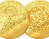 """Medallion """"For Mom"""", gold plated  3cc4adcb8cc2a1be768bc19a62a0422793a33cf918a18664ec7b847eb1bbded5"""
