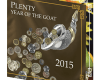 "Silver coin ""Plenty and tenderness, Year of the Goat 2015 ""  981aaf2432e7990a971f4e5cdfd1c8824ab6e045c06a45784391f747e6eac2fe"