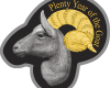 "Silver coin ""Plenty and tenderness, Year of the Goat 2015 ""  666f5e492338bd15077b651c86385a687bade29e915efcbc635f4bba261729a9"
