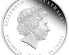 """Сребърна монета  """"Честита рожба"""", гръб"""