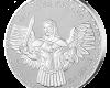 "Сребърен медальон ""Архангел Михаил"", кутия"