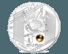 """Сребърна монета """"Велики спортни събития - УЕФА  - Силен удар"""""""