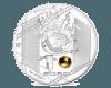 """Сребърна монета """"Велики спортни събития - УЕФА  - Умело спасяване"""" гръб"""