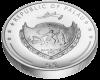 """Сребърна монета """"Годината на Кучето 2018"""", гръб"""