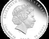 """Сребърна монета """"Годината на Прасето, 2019"""", гръб"""