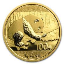 """8 гр. Златна монета """"Китайска панда""""   5d7b5047f60c8317502fbbaf5881a5211e1f3cd4cddf8b47190c3121bd58e8be"""