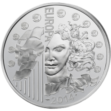 """Сребърна монета """"Европа"""" 2014  8d987f9dea2db5e37281cc53fad7028d34174229db3a02a5ac41d1c44e8d614b"""