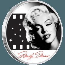 "Silver coin ""Marilyn Monroe""  04993a4345db1c951e891be2ada280d88ded393bf6598652cd7174139bdaa27e"