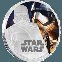 "Silver coin ""Star Wars - Captain Phasma""  09359c6d09831ea417af16eb60b60811971915f3c9983ede488664443d885425"
