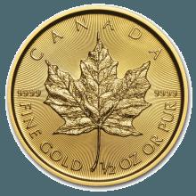 """Златна монета """"Кленов лист"""" 1/2 унция  887da68bb818eccaaa5974dd4e308b09010da0525a22f6c866e0bbdb7f7b194d"""