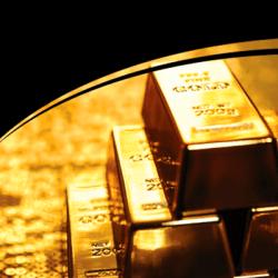 Златни кюлчета и монети